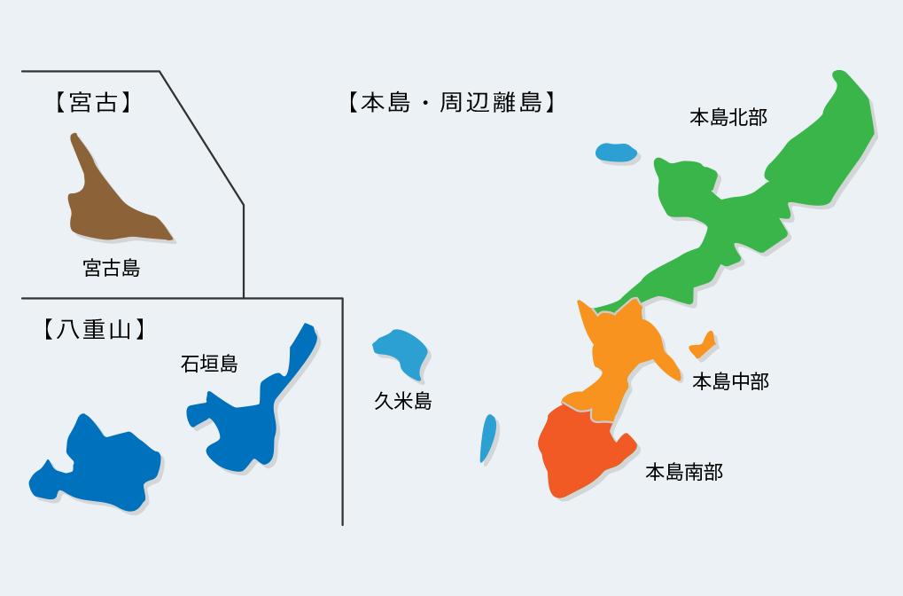 . 沖縄地図 .